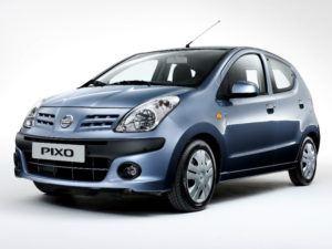 Serbatoio GPL Nissan Pixo dal 2007 in poi