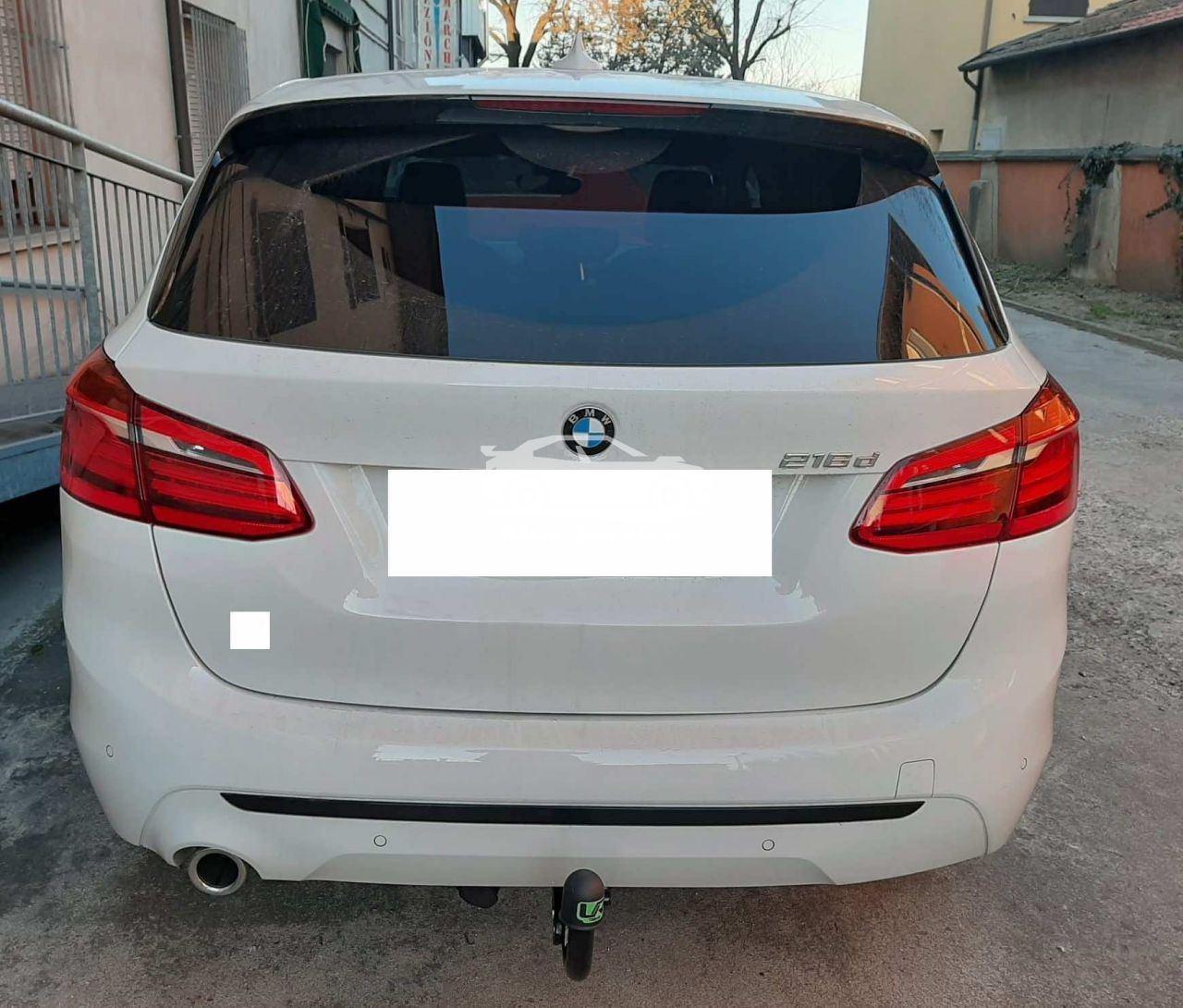 Gancio Traino Verticale per BMW Serie 2