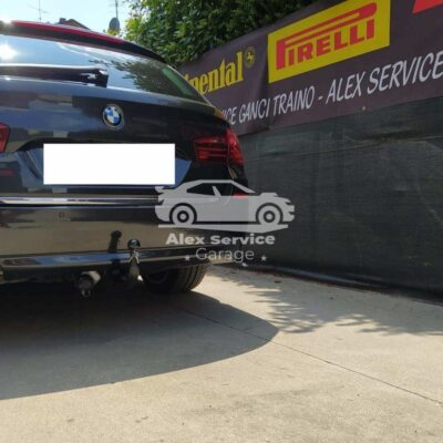 Gancio Traino Verticale BMW Serie 5