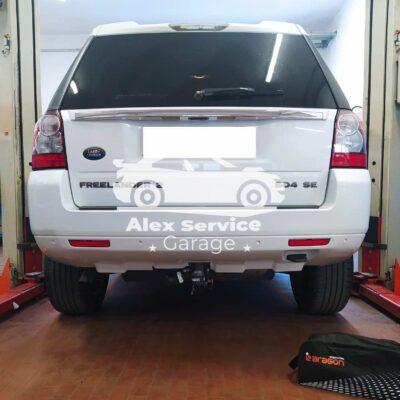 Gancio Traino Verticale Land Rover Freelander 2