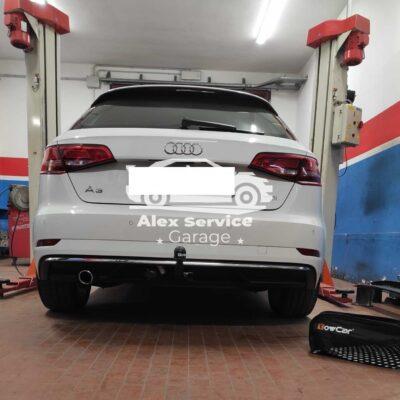 Gancio Traino Verticale Audi A 3