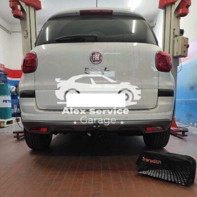 Gancio Traino Verticale Fiat 500L Cross