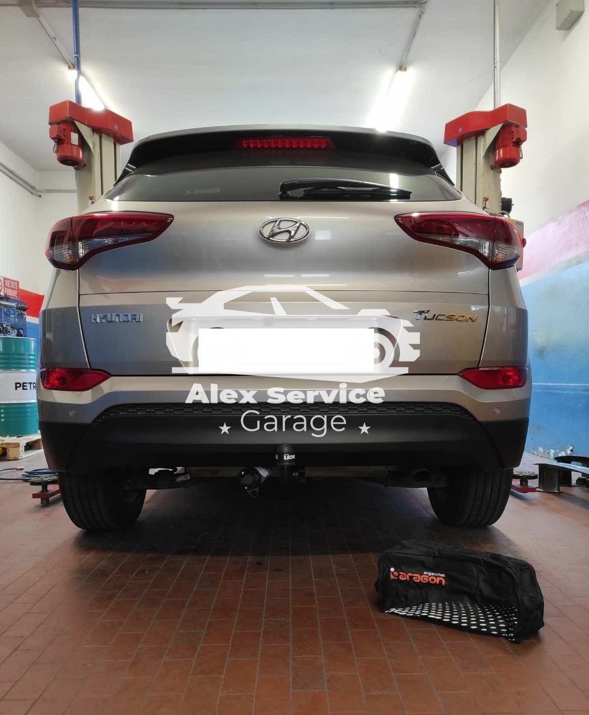 Gancio Traino Verticale Hyundai Tucson