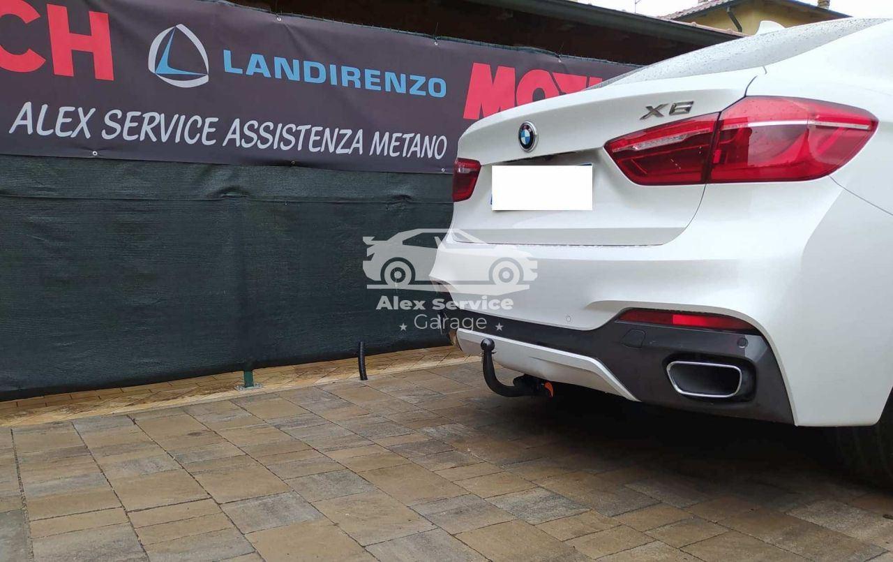 Gancio traino verticale per BMW X6
