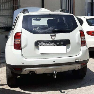 Gancio traino orizzontale per Dacia Duster
