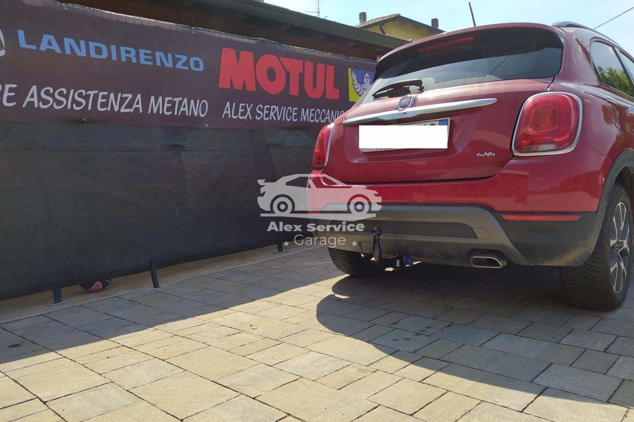 Gancio traino verticale per Fiat 500X