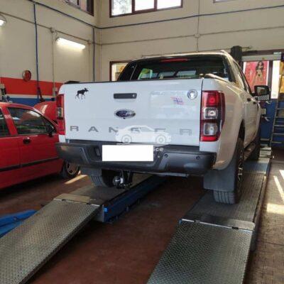 Gancio Traino orizzontale per Ford Ranger