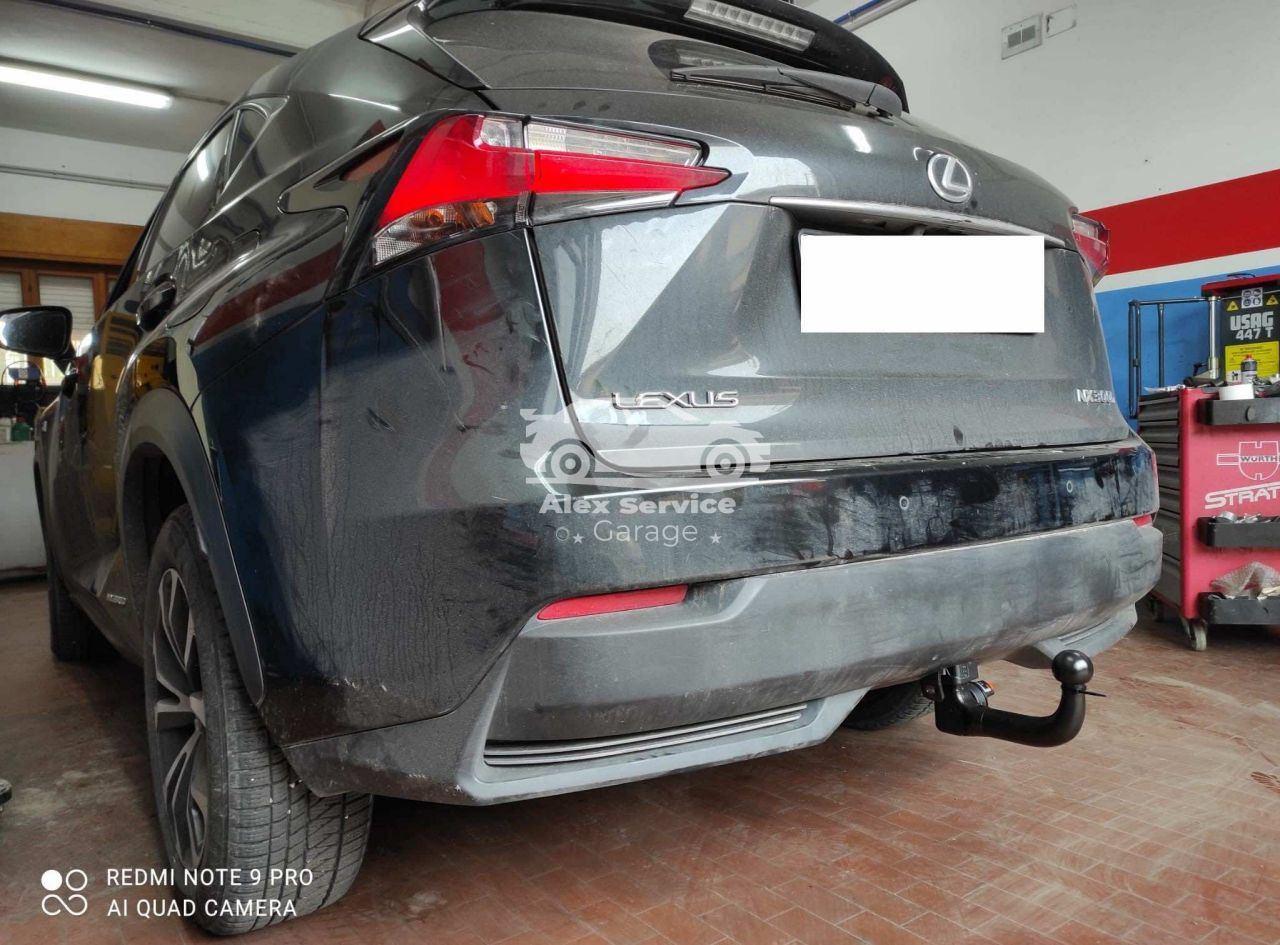 Gancio traino verticale per Lexus NX300H