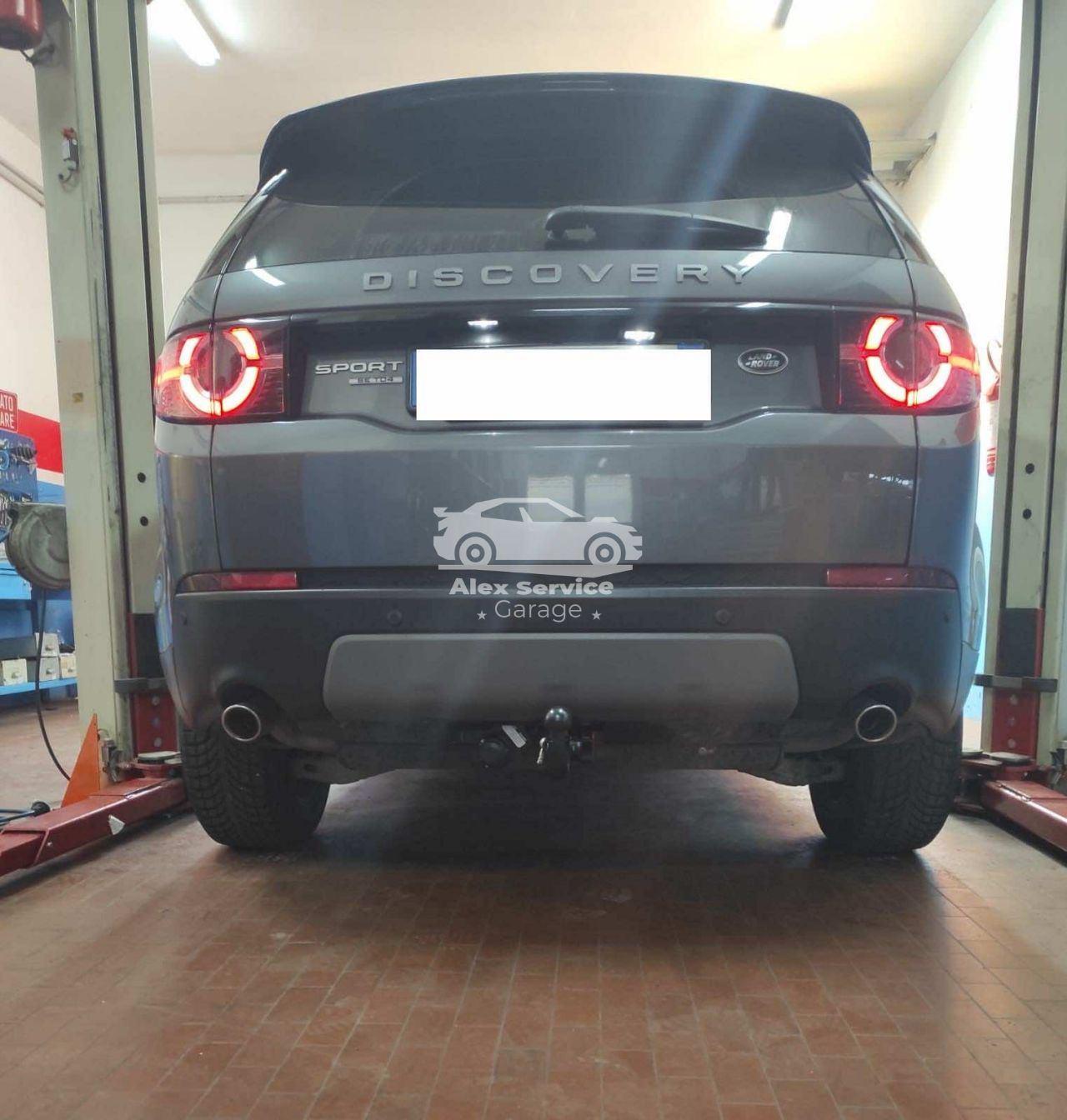 Gancio traino verticale per Land Rover Discovery Sport