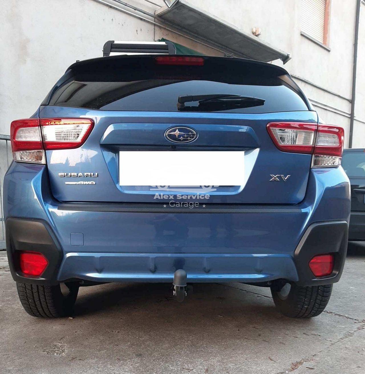Gancio traino verticale per Subaru XV