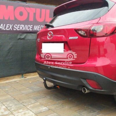 Gancio traino verticale per Mazda CX5