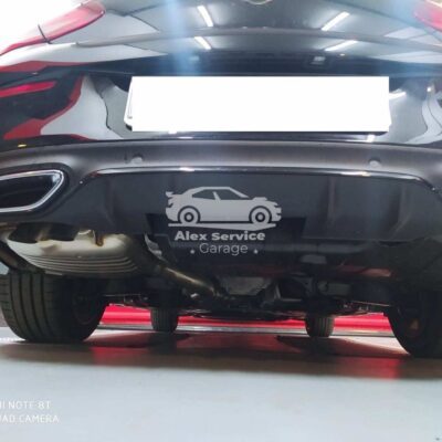 Gancio traino verticale per Mercedes Classe C Coupe