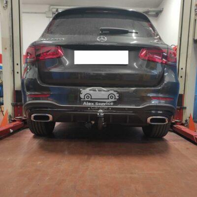 Gancio traino verticale per Mercedes GLV SUV