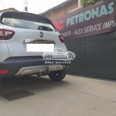 Gancio traino orizzontale per Renault Captur
