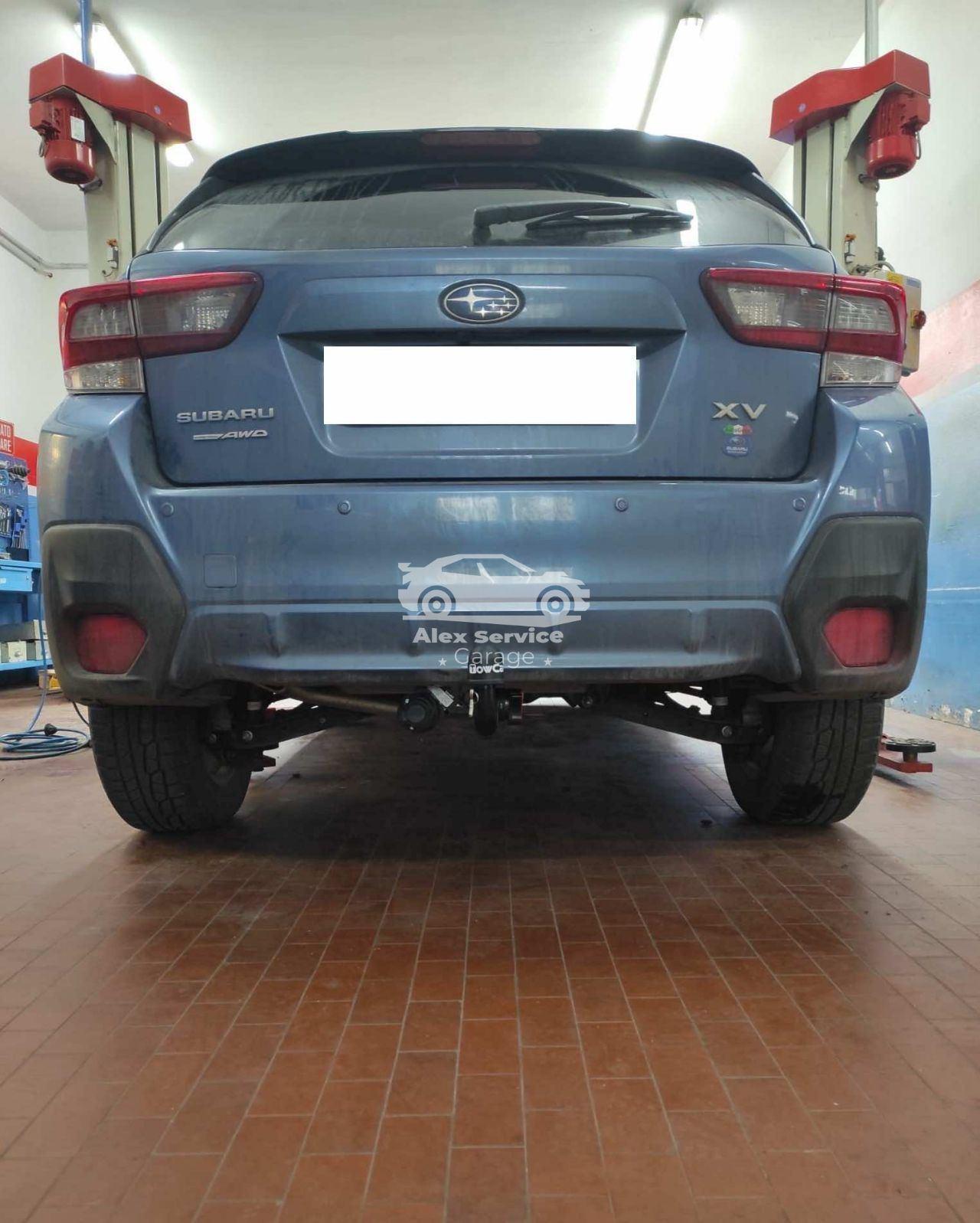 Gancio traino verticale per Subaru XV 2020