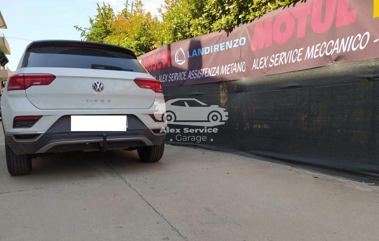 Gancio traino verticale per Volkswagen T Roc