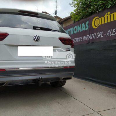 Gancio traino verticale per Volkswagen Tiguan