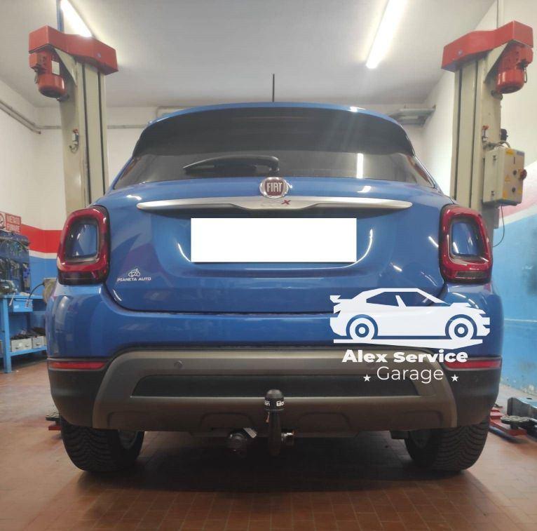 Gancio traino verticale Fiat 500x cross