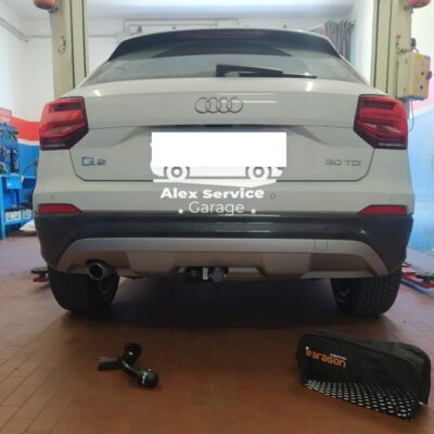 Gancio traino orizzontale per Audi Q2