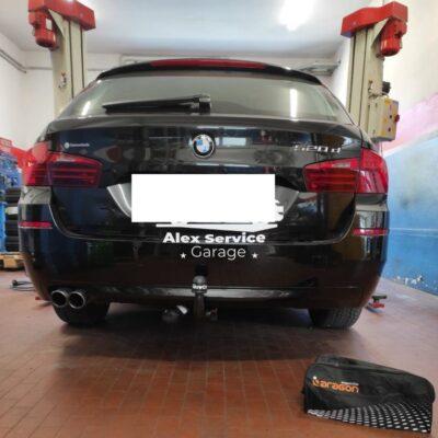 Gancio traino verticale BMW serie 5 520d