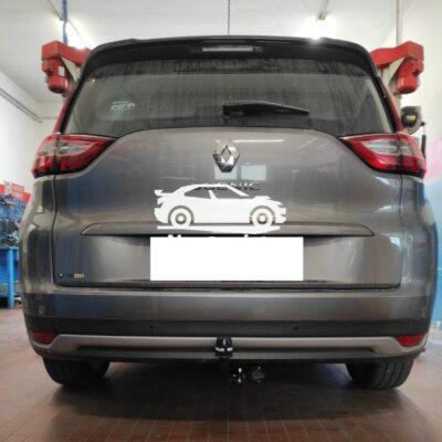 Gancio verticale Renault scenic