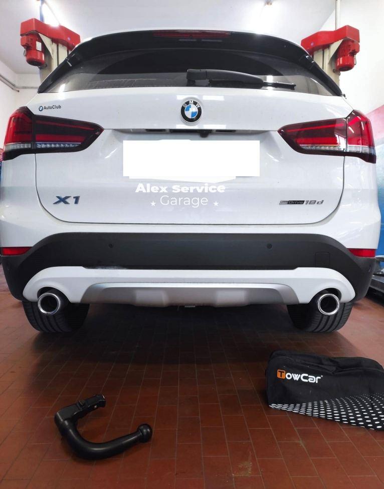 autofficina alex service GANCIO TRAINO VERTICALE BMW X1