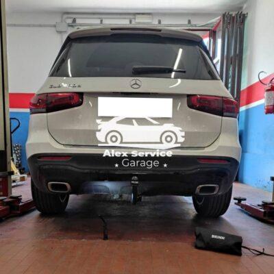 Gancio traino verticale per Mercedes GLB 200 D