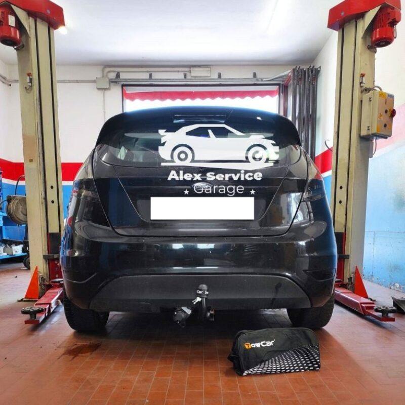 Gancio traino verticale per Ford Fiesta