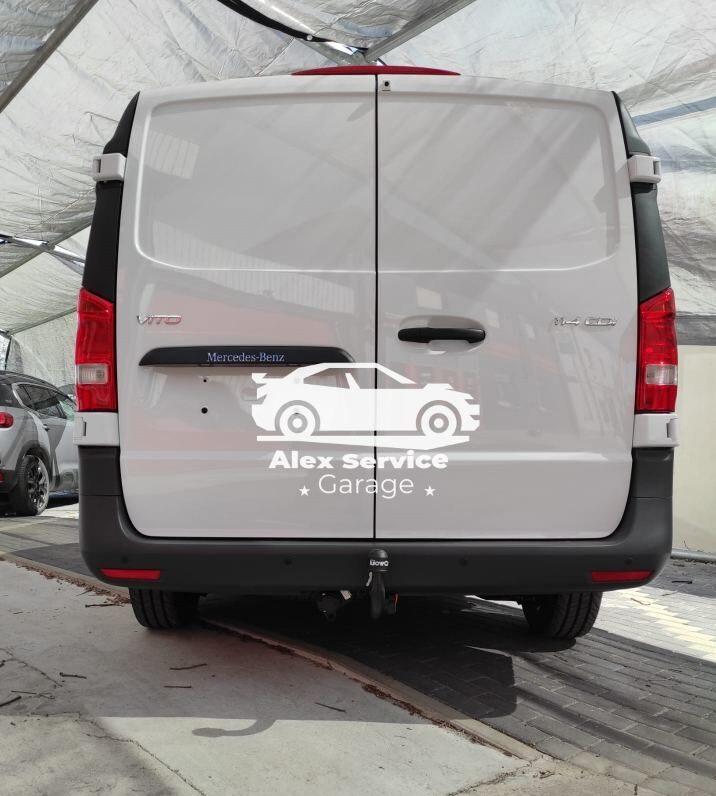 Gancio traino verticale per Mercedes vito