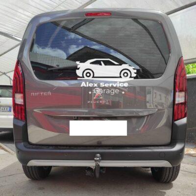 Gancio traino verticale per Peugeot Rifter