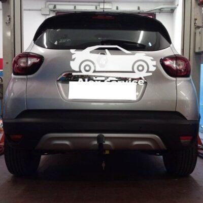 Gancio traino verticale per Renault Captur