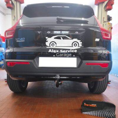 Gancio traino verticale per Volvo xc40