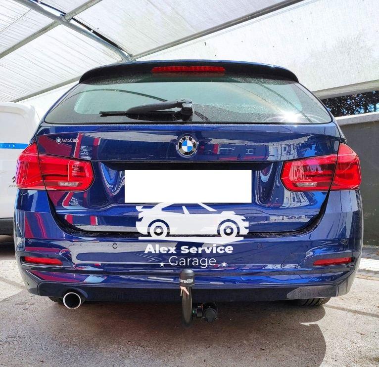 gancio traino verticale per BMW serie 3