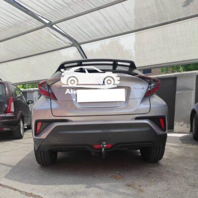 Gancio traino verticale per Toyota c-hr hybrid